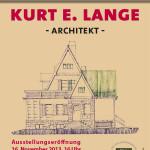 Ausstellung zu Kurt E. Lange